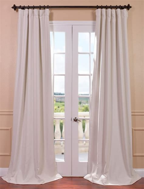 cottage style drapes cottage white bellino blackout curtain contemporary