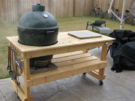 big green egg table plans large with drawers big green egg table plans large with drawers