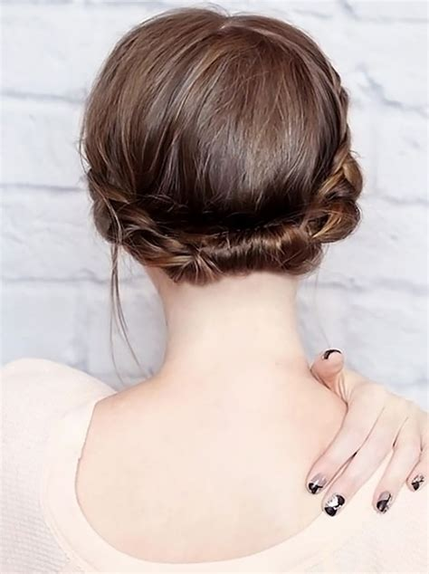 steps to hide a hair bobby pin with beautiful hairstyles