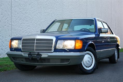old car manuals online 1984 mercedes benz s class windshield wipe control 1984 mercedes 280 se 151 563 miles blue sedan 2 8l 6 cylinders manual for sale mercedes benz