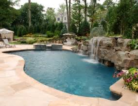 Pool Backyard Designs Pool Designs Custom Swimming Pools Landscaping By Cipriano
