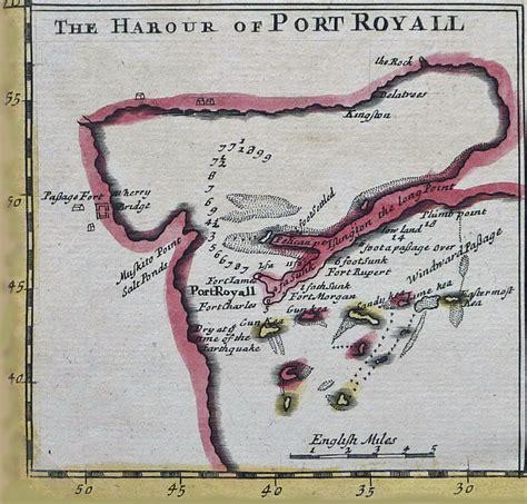 port royal jamaica history 1696 port royal harbour jamaica check mate