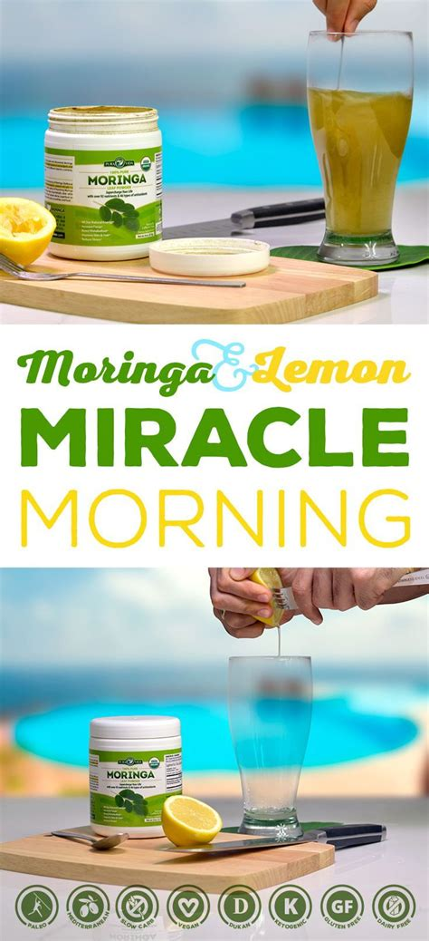 Moringa Detox Recipe by Moringa Miracle Morning Elixir Recipe Miracle Morning
