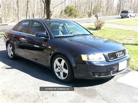 Audi A4 Door by 2003 Audi A4 Quattro Base Sedan 4 Door 3 0l