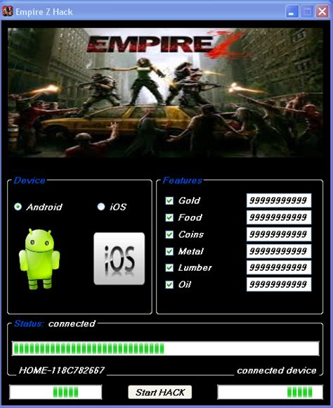 android hack tools empire z hack tool cheats free android ios