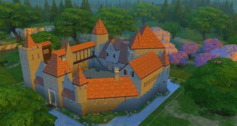 Sims 4 Medieval Castle | simsdelsworld the sims 4 medieval royal castle