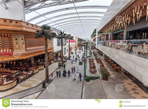 layout of avenues mall the avenues mall in kuwait city editorial stock photo