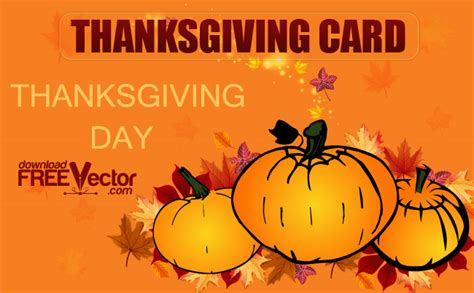 printable thanksgiving day cards free thanksgiving day card free vector 123freevectors