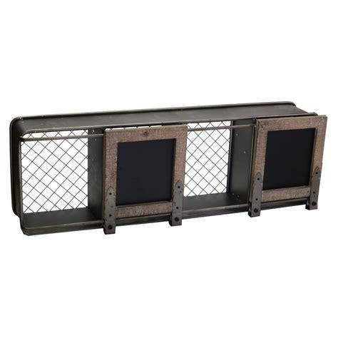 mensola metallo mensola metallo legno 4 vani c lavagne rettangolare
