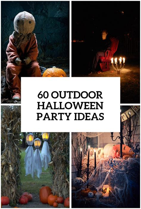 halloween party ideas 60 awesome outdoor halloween party ideas digsdigs