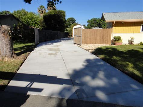 driveway extending  backyard solano county