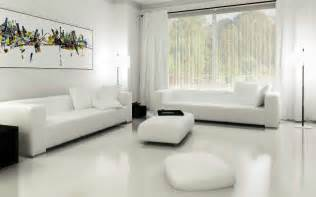 stunning all white living room design all white living