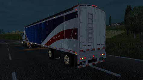 Walking Floor Trailers by Wilkens Walking Floor Trailer Mod Truck Simulator 2 Mods