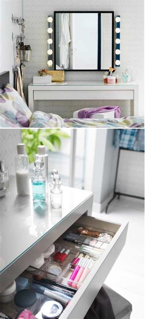 ikea malm dressing table with inserts favorite places spaces pinterest dressing storage 17 best ideas about malm dressing table on pinterest ikea vanity table ikea dressing table