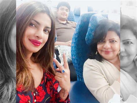 priyanka chopra family hindi priyanka chopra and family take off for the birthday vacation