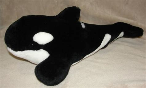 killer whale cuddly killer whale stuffed animal