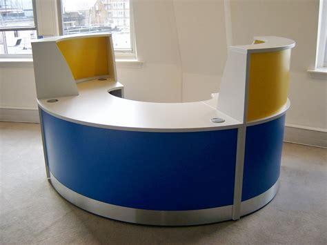 Yellow Reception Desk Yellow Reception Desk White Reception Desks Valde Half Circle Desk 25 Best Ideas About Office