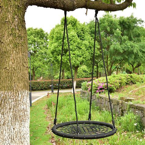 hanging swing 31 5 quot outdoor tree swing net tool garden