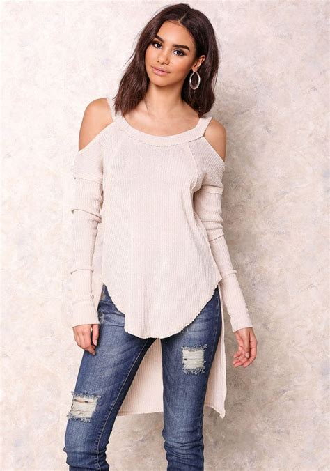 Cold Shoulder Knit Top 1000 ideas about cold shoulder sweater on
