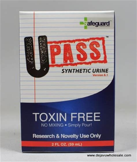 U Pass Detox by U Pass Synthetic Urine
