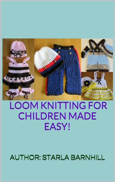 loom knitting pattern book 38 easy no needle designs for