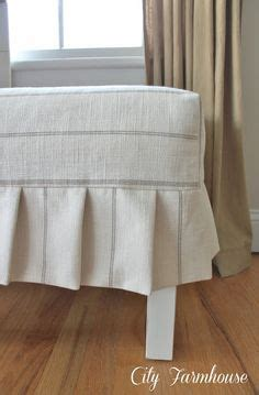 directions for making an ottoman slipcover 1000 images about box pleats on pinterest box pleats