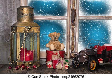 Weihnachtsdeko Fenster Stock by Bilder Weihnachten Fenster Schwelle Dekoration Mit