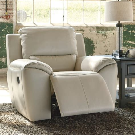 zero wall recliner ashley valeton zero wall recliner in cream u7350029