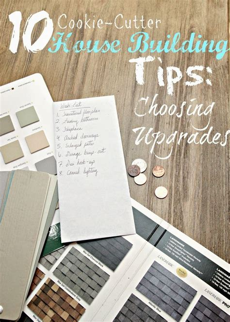 10 House Building Tips: Choosing Your Upgrades   For the