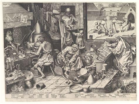 pieter bruegel  elder  alchemist  met