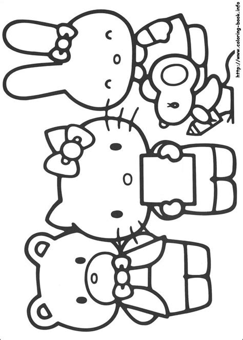 hello kitty fall coloring page hello kitty coloring pages crafts and worksheets for