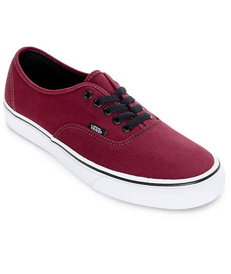 Sepatu Vans Authentic Black Dope Dtbnib 40 44 vans authentic port royale and black skate shoes mens at