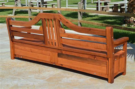 custom outdoor storage bench redwood storage bench custom outdoor wooden storage