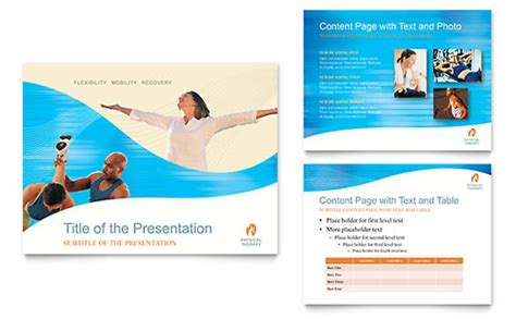 Physical Therapist Flyer Template Word Publisher Physical Therapy Brochure Templates