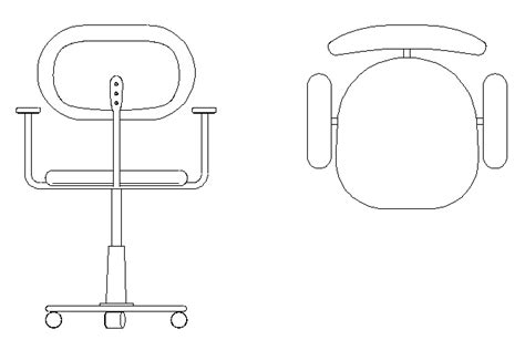 sedia autocad chair cad drawings toppkb