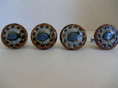 Vintage Ceramic Knobs by Vintage Ken Edward Ceramic Drawer Knobs Set By