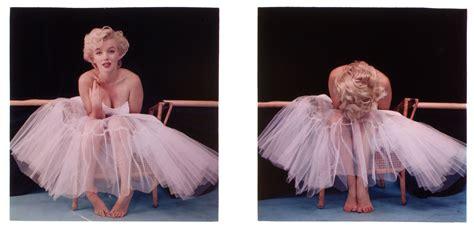 marilyn monroe the ballerina sitting 1954 the red list