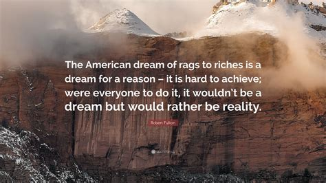 Rags Rather Than Riches Kenzies Rags To Riches Tote Is On Sale by Robert Fulton Quote The American Of Rags To Riches