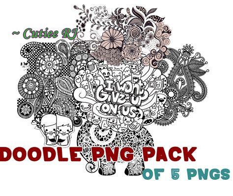 doodle png doodle png pack by cutieerj on deviantart