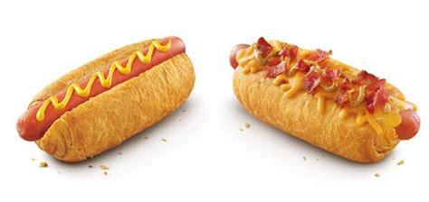 croissant dogs new hotdog snack features a flaky buttery croissant bun designtaxi