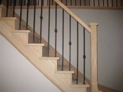 Refinishing Stair Banister by Refinishing Orbit Stairs Inc