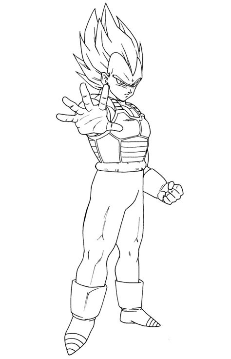 dragon ball z vegeta coloring pages vegeta ssj2 coloring pages coloring pages