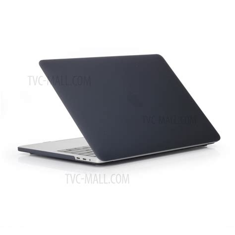 Macbook Pro Ratu Plaza matte plastic front and back protective for macbook pro 13 inch 2016 a1706 a1708 black
