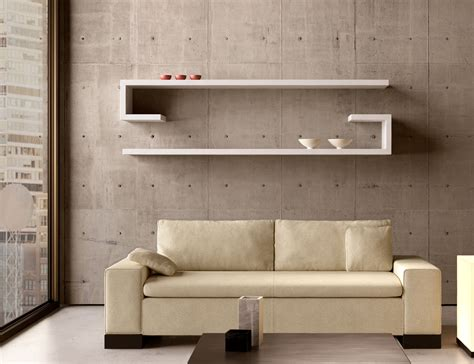 modern shelving home decor