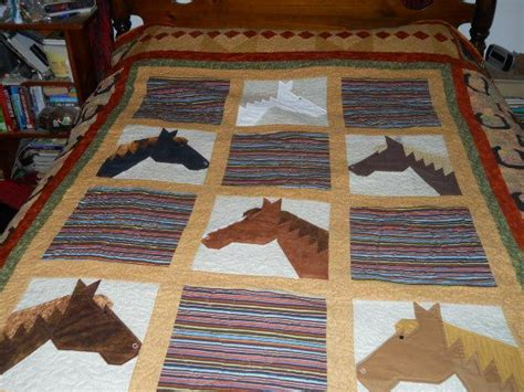 horse quilt  cowgirlquilts