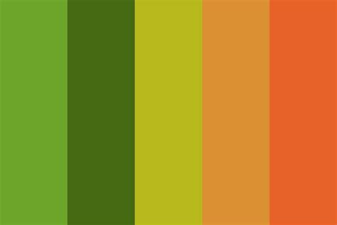 colors in portuguese portugese orange color palette