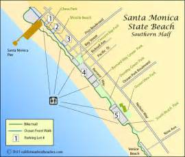 where is santa california on map santa state california s best beaches