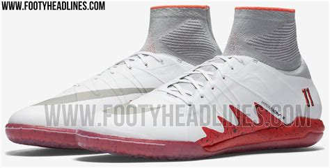 neymar new shoes white crimson nike hypervenomx proximo neymar x