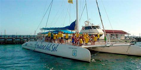 catamaran crucero del sol cuba las mejores excursiones en cuba quot crucero del sol quot desde