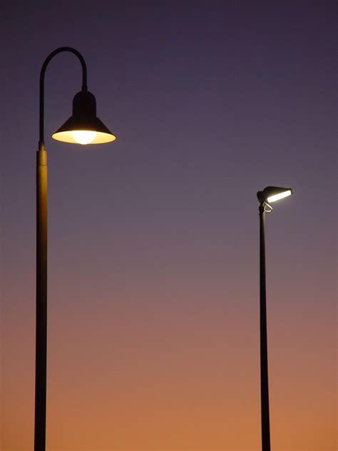 light poles in la file lights in evening jpg wikimedia commons